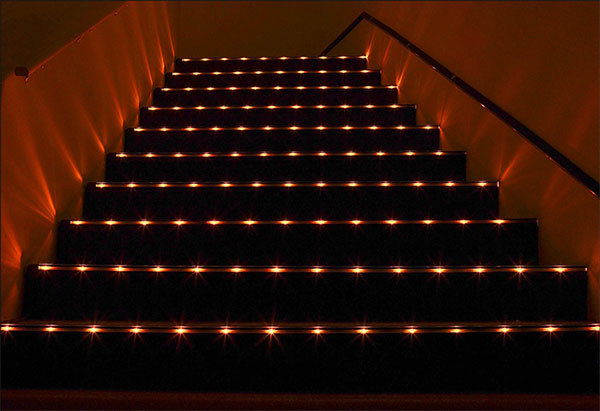 Click to enlarge image theater_stairs.jpg ...  sc 1 st  Primus Lighting & PL-CF/CW - CARPET/FLOOR/WALL
