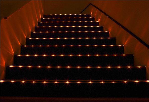 theater stair lighting democraciaejustica